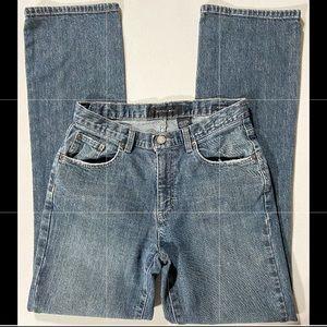 Calvin Klein High Rise Bootcut Jeans Size 4